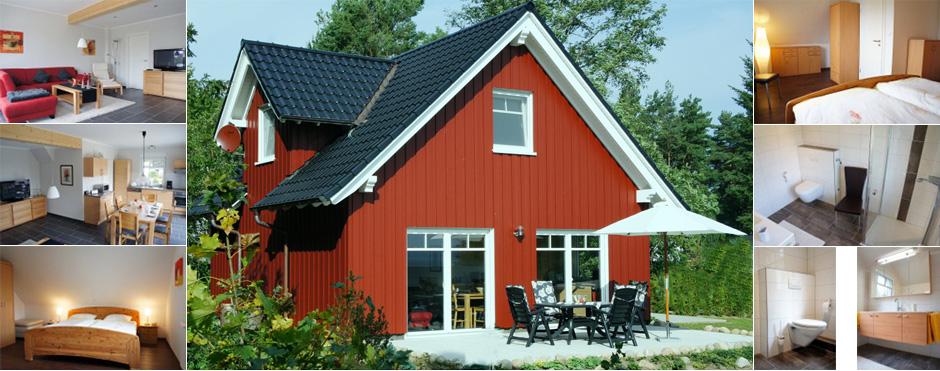 Schwedenhaus am see  Unser Ferienhaus - Das Schwedenhaus in Plau am See